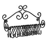 NFASHIONSO 壁挂式滚动设计首饰挂架带可拆卸挂钩