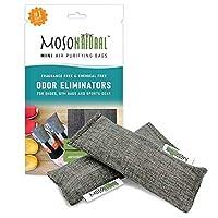 Moso Natural 迷你空气净化包 灰色 1-Pack (2 Total) MB3979