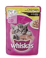 Whiskas Kitten Wet food Gravy with Chicken ( 12 Pack)