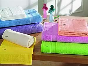 金保护套毛巾系列–2in1装 cm (50x 90cm ) 手工 / FACE / 健身 / SPA / 厨房 / 浴室毛巾–100% 土耳其棉,土耳其制造–超软 absorbant