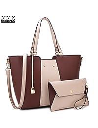 mmk 系列时尚女式 purses 和手提包女式设计师挎包手提包托特包单肩包配零钱袋