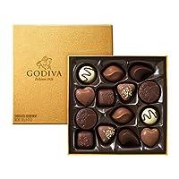 GODIVA 歌帝梵 金装精选巧克力礼盒14颗装 165g(比利时进口)(亚马逊自营商品, 由供应商配送)