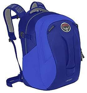 Osprey 中性童 弹簧 Pogo 24 紫蓝色 24升 儿童双肩背包 儿童日用旅游多功能硬质背板透气肩带舒适背负可放平板电脑多重分仓 三年质保终身维修10000595 (两种LOGO随机发) (儿童系列)