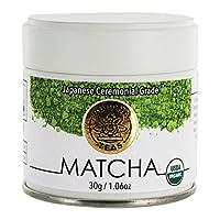 Buddha Teas - 抹茶粉日本礼仪级 - 30克, 3.17盎司