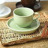 YAMA* 茶杯_盘组 多色 230ml 6818108