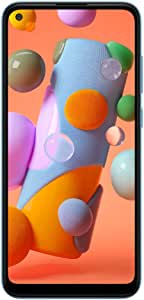 三星 Galaxy A11 32GB(A115M/DS)6.4英寸高清+,4,000mAh LTE GSM 工厂解锁智能手机 - 国际版 蓝色