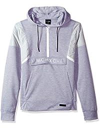 WT02男式长袖技术羊毛套衫带尼龙细节