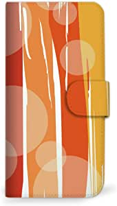 mitas iphone 手机壳845SC-0003-OR/402SH 4_AQUOS (402SH) 橙色