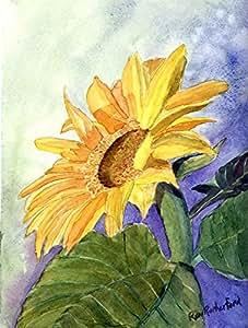 Caroline's Treasures RDR2001-FLAG-PARENT 花卉 - 向日葵旗帜,多色 小号 多种颜色 RDR2001GF