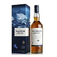 Talisker 泰斯卡 10年 单一麦芽苏格兰威士忌 700ml(英国进口)
