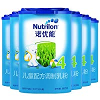 Nutrilon 诺优能 4段儿童配方调制乳粉(36-72个月) 800g*6罐(爱尔兰原装进口)