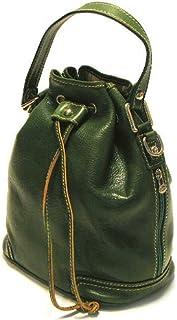 Floto Luggage Italian Ciabatta Satchel, Green, Medium