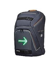Port Designs GO LED 便携式旅行加垫自行车/自行车笔记本电脑背包/帆布背包,适用于 15.6 英寸 Windows/iPads/Apple MacBooks笔记本电脑和平板电脑,带防雨罩保护