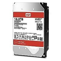 WD 西部数据 红色系列 10TB NAS硬盘驱动器 - 5400 RPM Class SATA 6 Gb / s 256MB缓存3.5英寸- WD100EFAX