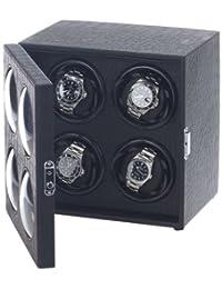'Raoul U. Braun 手表 4 块手表 Bullseye 黑色 带 LED 照明钟表