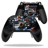 MightySkins Skin 适用于 Microsoft Xbox One Elite Controller — 保护、耐用、独特的乙烯基贴花封套 — 易于应用、拆卸和更换风格 — 美国制造