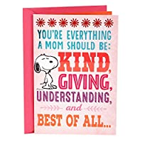 Hallmark 趣味弹出式母亲节贺卡 适合妈妈 Mom, Snoopy and Woodstock