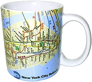 American Cities and States of 325ml 咖啡马克杯 白色