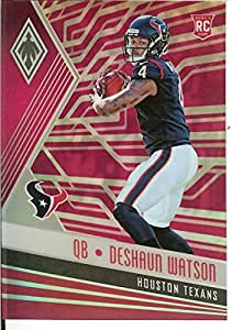 足球 NFL 2017 Phoenix Pink #101 Deshaun Watson Rookie 47/199 Texans