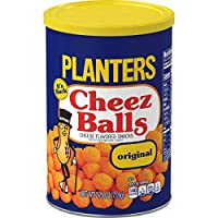 Planters Cheez Balls, 2.75 oz Canister (Pack of 12)