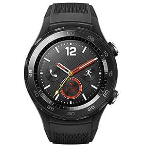HUAWEI 华为 WATCH 2 第二代智能运动手表 4G版(碳晶黑)