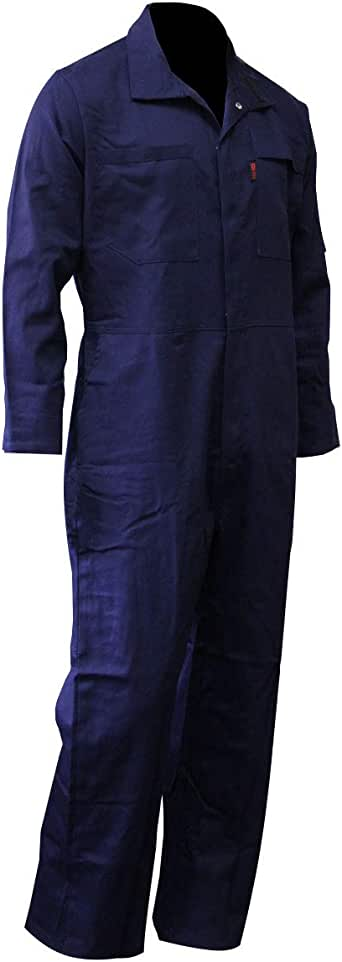 Chicago Protective Apparel Men's FR Cotton Coverall