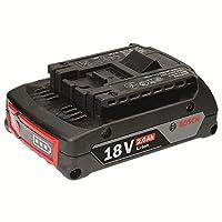 【售价7折,至2.28(需领券)】BOSCH 博世 18V 2.0Ah 锂电池 (1600A001CG) 适用于马刀锯 万用宝 充电电钻(亚马逊自营商品 由供应商配送)