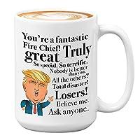 Donald Trump 咖啡馬克杯 - 425 g 茶杯禮物創意送給火焰首長生日圣誕總統保守共和黨人