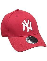 New Era 男士 MLB 基础款 NY Yankees 39Thirty Stretch Back 棒球帽