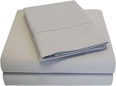 Impressions 800 Thread Count 100-Percent Cotton Solid 6-Piece Sheet Set 石洗 全部
