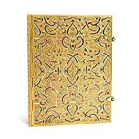 paperblanks 愛爾蘭 Gold Inlay系列橫線筆記本大號 金雕