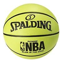 Spalding 夜光户外橡胶篮球