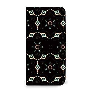 MITAS 手机壳翻盖式万花镜图案  レッド(ベルトなし) 14_Disney Mobile (DM009SH)