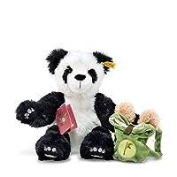 "steiff 白色 / 黑色环游世界熊 LIN grobetrotting 熊猫 "" 毛绒玩具"