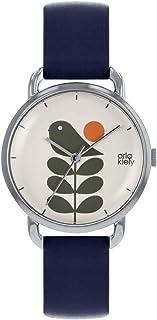 Orla Kiely 欧拉·凯利 中性成人模拟经典石英手表皮革表带 OK2237 米黄色