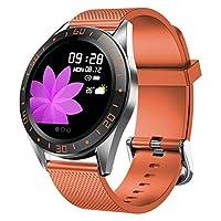 LIGE 智能手表健身追踪器带心率监测*,彩色屏幕智能手表手环计步器呼叫提醒静音控制适用于安卓 iOS 手机男女儿童