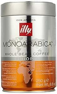 ILLY 意利 阿拉比加 单品咖啡豆 埃塞俄比亚 250g(意大利进口)