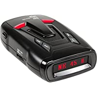 Whistler CR75 Laser-Radar Detector with Blue OLED Text Display and Digital Compass