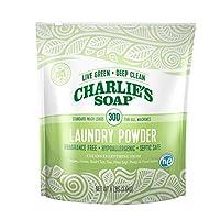 charlie's SOAP–无香型洗衣 powder 300 Loads
