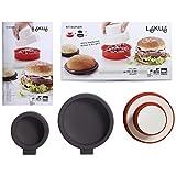 Lekue Burger 面包模具,4 件套 Red/White 0 3000029SURM017