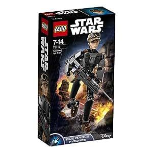 LEGO 乐高  拼插类 玩具  Star Wars 星球大战系列 军士 Jyn Erso(厄瑟) 75119 8-14岁