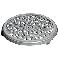 Staub 珐宝 三脚珐琅铸铁锅垫 23cm 铂金灰