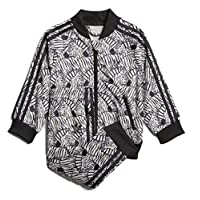 adidas 阿迪達斯 Originals 女童 Infants Zebra Superstar SST 運動套裝