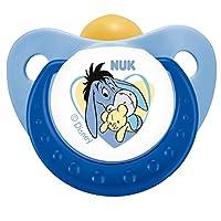德国NUK安抚奶嘴 迪士尼 小熊维尼 乳胶2号 (颜色随机)(适用6-18个月)