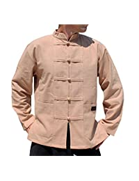 Raan Pah Muang 保暖棉专业中国风琴夹克加大码 T 恤