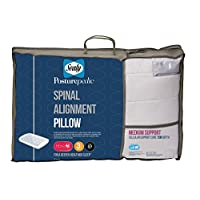 Sealy Spinal Alignment Pillow - 7cm Core - Medium