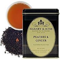 Harney & Sons 散叶红茶, 桃子和生姜茶, 8 盎司(约227g)
