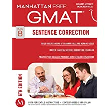 GMAT Sentence Correction (Manhattan Prep GMAT Strategy Guides Book 8) (English Edition)