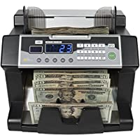 Royal Sovereign Money Counting Machine, High Speed Bill Counter, UV, MG, IR Counterfeit Bill Detector, Front Load (RBC-3100)