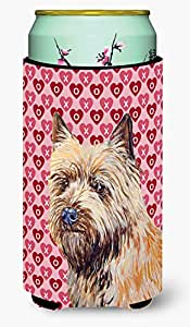 Cairn Terrier Hearts Love and Valentine's Day Portrait Michelob Ultra Koozies for slim cans LH9140MUK 多色 Tall Boy